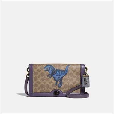 Fashion 4 Coach RILEY IN SIGNATURE CANVAS WITH REXY BY ZHU JINGYI