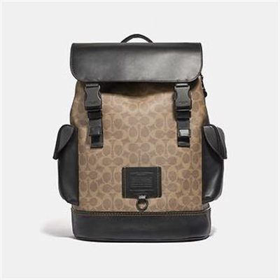 Fashion 4 Coach RIVINGTON BACKPACK IN SIGNATURE CANVAS