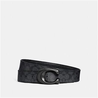 Fashion 4 Coach SCULPTED SIGNATURE CUT-TO-SIZE REVERSIBLE BELT