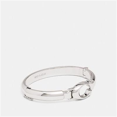 Fashion 4 Coach SCULPTED SIGNATURE PLAQUE BANGLE