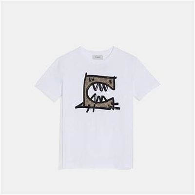 Fashion 4 Coach SIGNATURE REXY BY GUANG YU T-SHIRT