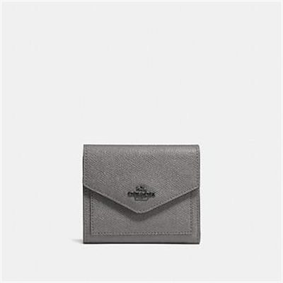 Fashion 4 Coach SMALL WALLET IN CROSSGRAIN LEATHER