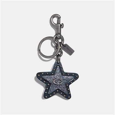 Fashion 4 Coach STUDDED STAR BAG CHARM