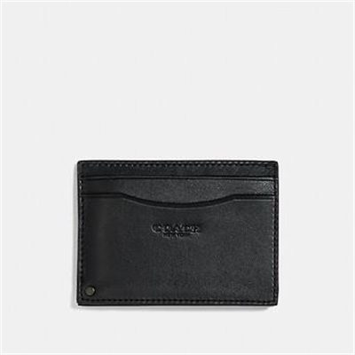 Fashion 4 Coach SWIVEL CARD CASE WITH SIGNATURE CANVAS DETAIL