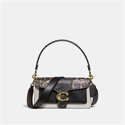 Fashion 4 Coach TABBY SHOULDER BAG 26 WITH SNAKESKIN DETAIL