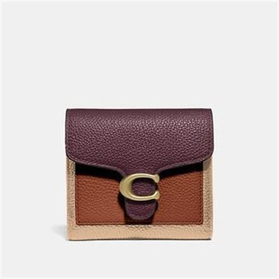 Fashion 4 Coach TABBY SMALL WALLET IN COLORBLOCK