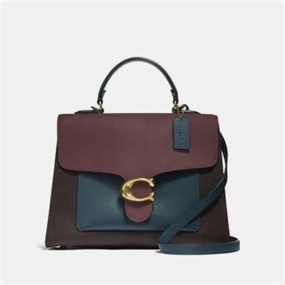 Fashion 4 Coach TABBY TOP HANDLE IN COLORBLOCK