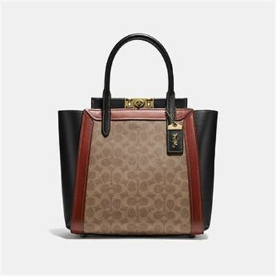 Fashion 4 Coach TROUPE TOTE IN SIGNATURE CANVAS