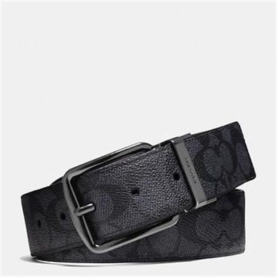 Fashion 4 Coach WIDE HARNESS CUT-TO-SIZE REVERSIBLE SIGNATURE BELT