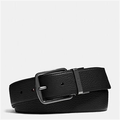 Fashion 4 Coach WIDE REGULAR CUT-TO-SIZE REVERSIBLE LEATHER BELT