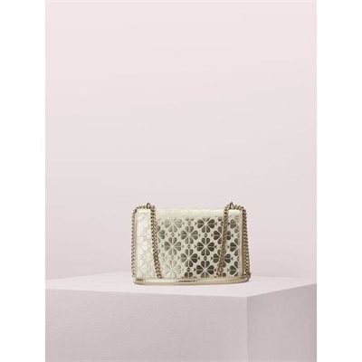 Fashion 4 - amelia spade flower medium flap shoulder bag