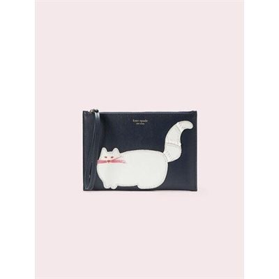 Fashion 4 - beaded cat small wristlet