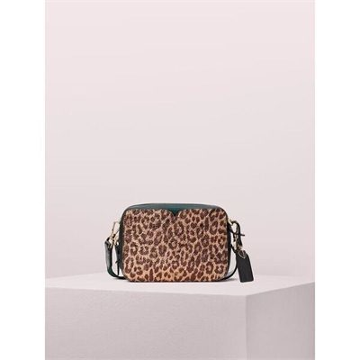 Fashion 4 - candid metallic leopard medium camera bag