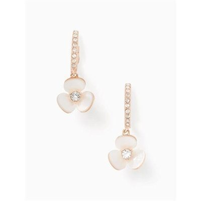 Fashion 4 - disco pansy drop earrings