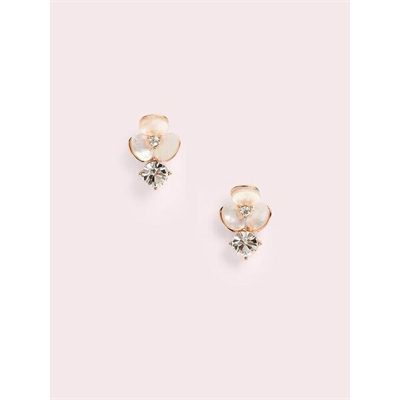 Fashion 4 - disco pansy drop studs