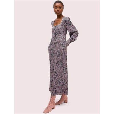 Fashion 4 - flair flora crepe midi dress