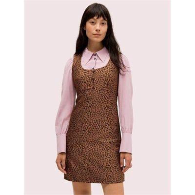 Fashion 4 - flora leopard jacquard dress