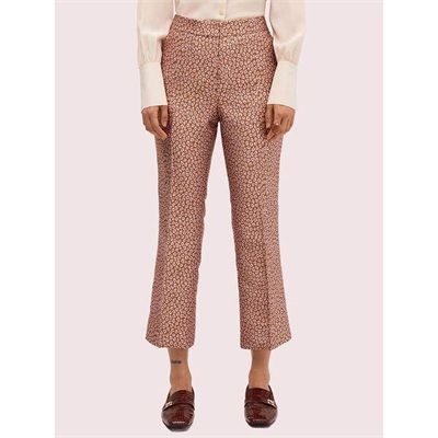 Fashion 4 - flora leopard jacquard pant