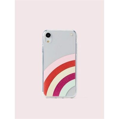 Fashion 4 - glitter rainbow iphone xr case