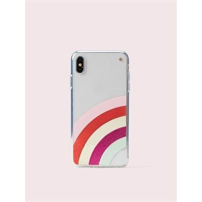 Fashion 4 - glitter rainbow iphone xs max case