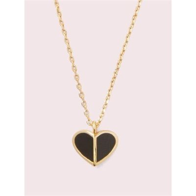 Fashion 4 - heritage spade enamel heart mini pendant
