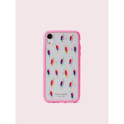 Fashion 4 - jeweled flock party iphone xr case