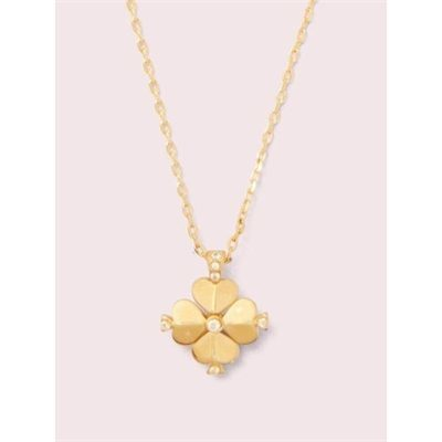 Fashion 4 - legacy logo spade flower mini pendant