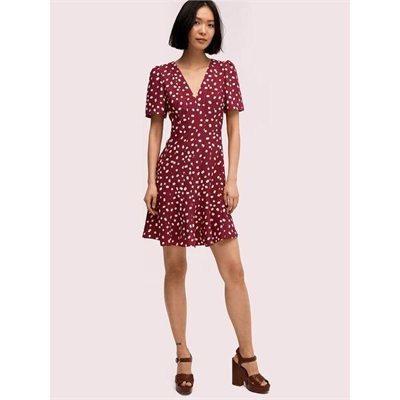 Fashion 4 - mallow dot crepe dress