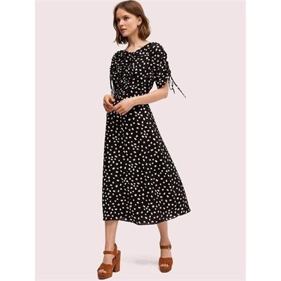 Fashion 4 - mallow dot midi dress