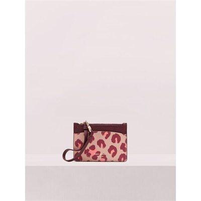 Fashion 4 - margaux leopard card holder wristlet