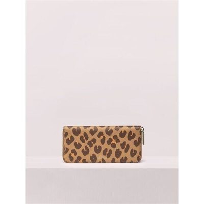 Fashion 4 - margaux leopard slim continental wallet