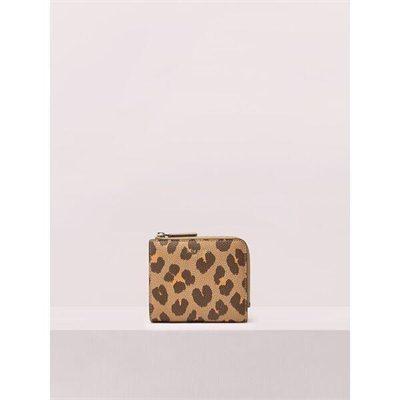 Fashion 4 - margaux leopard small bifold wallet