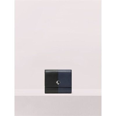Fashion 4 - nicola bicolor bifold flap wallet