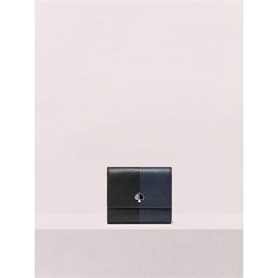Fashion 4 - nicola bicolor bifold flap wallet