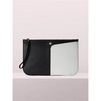 Fashion 4 - nicola bicolor large pouch wristlet