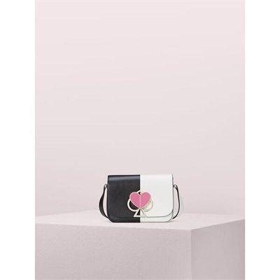 Fashion 4 - nicola bicolor twistlock small shoulder bag