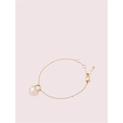 Fashion 4 - open heart stone lock bracelet