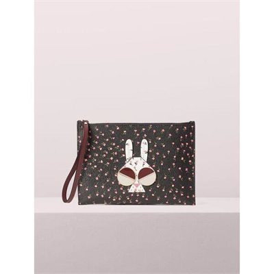 Fashion 4 - spademals money bunny small wristlet
