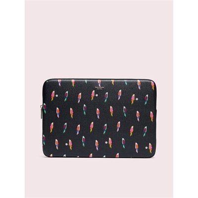 Fashion 4 - sylvia flock party universal laptop sleeve