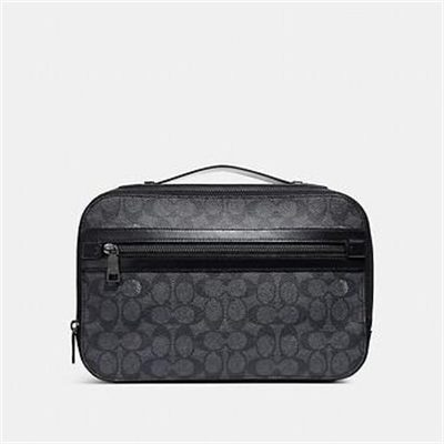 Fashion 4 Coach ACADEMY TRAVEL CASE IN SIGNATURE CANVAS