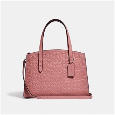 Fashion 4 Coach CHARLIE CARRYALL 28 IN SIGNATURE LEATHER