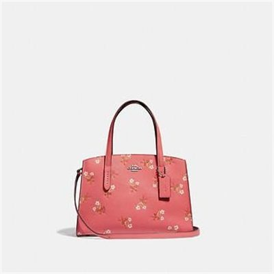 Fashion 4 Coach CHARLIE CARRYALL 28 WITH FLORAL PRINT