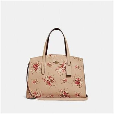 Fashion 4 Coach CHARLIE CARRYALL WITH FLORAL PRINT