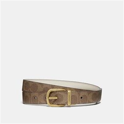 Fashion 4 Coach CLASSIC REVERSIBLE BELT IN SIGNATURE CANVAS