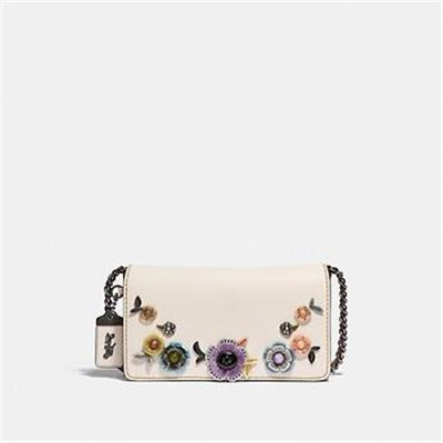 Fashion 4 Coach DINKY WITH ALLOVER TEA ROSE