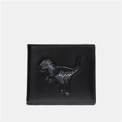 Fashion 4 Coach DOUBLE BILLFOLD WALLET WITH REXY