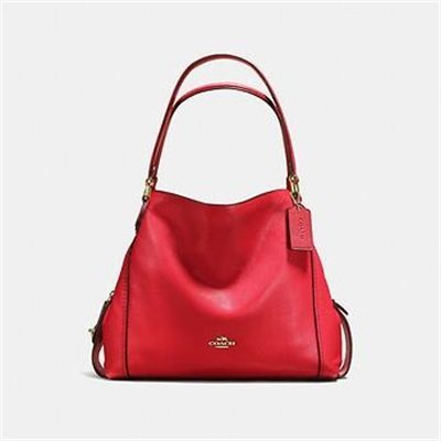 Fashion 4 Coach EDIE SHOULDER BAG 31 IN PEBBLE LEATHER