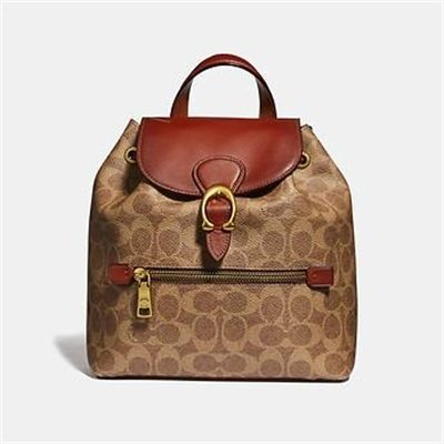 Fashion 4 Coach EVIE BACKPACK 22 IN SIGNATURE CANVAS
