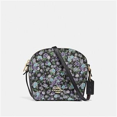 Fashion 4 Coach FARROW CROSSBODY WITH FLORAL PRINT