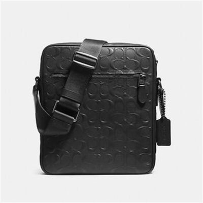 Fashion 4 Coach FLIGHT BAG IN SIGNATURE CROSSGRAIN LEATHER